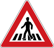 Pozor pøechod pro chodce