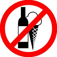 Zákaz pití a zmrzliny