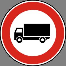 Zákaz vjezdu nákladních automobilù