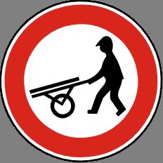Zákaz vjezdu ruèních vozíkù