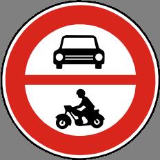 Zákaz vjezdu všech motorových vozidel